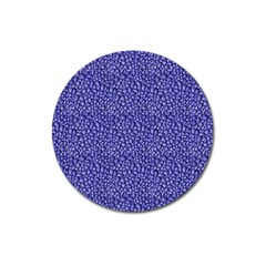 Abstract Texture Magnet 3  (round) by dflcprints
