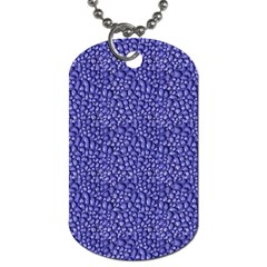 Abstract Texture Dog Tag (two Sides) by dflcprints