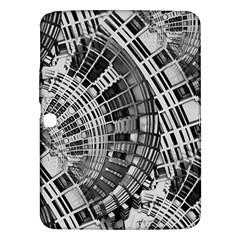 Semi Circles Abstract Geometric Modern Art Samsung Galaxy Tab 3 (10 1 ) P5200 Hardshell Case  by CrypticFragmentsDesign