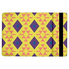 Tribal Shapes And Rhombus Pattern                        			apple Ipad Air Flip Case by LalyLauraFLM