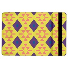 Tribal Shapes And Rhombus Pattern                        			apple Ipad Air 2 Flip Case by LalyLauraFLM