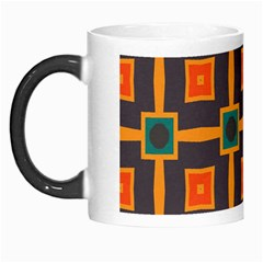 Connected Shapes In Retro Colors                         Morph Mug by LalyLauraFLM
