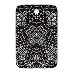 Solid Black Samsung Galaxy Note 8 0 N5100 Hardshell Case  by Zandiepants