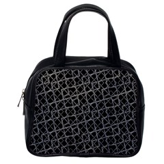 Geometric Grunge Pattern Classic Handbags (one Side) by dflcprints