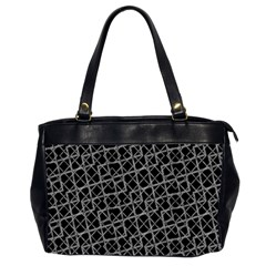 Geometric Grunge Pattern Office Handbags (2 Sides)  by dflcprints