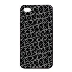 Geometric Grunge Pattern Apple Iphone 4/4s Seamless Case (black) by dflcprints
