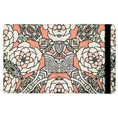 Petals In Vintage Pink, Bold Flower Design Apple Ipad 3/4 Flip Case by Zandiepants