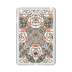 Petals In Vintage Pink, Bold Flower Design Apple Ipad Mini 2 Case (white) by Zandiepants