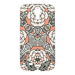 Petals In Vintage Pink, Bold Flower Design Samsung Galaxy S4 I9500/i9505 Hardshell Case by Zandiepants