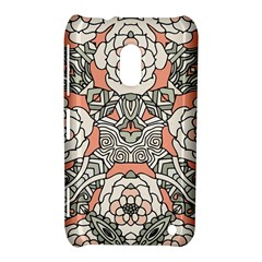 Petals In Vintage Pink, Bold Flower Design Nokia Lumia 620 Hardshell Case by Zandiepants