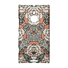 Petals In Vintage Pink, Bold Flower Design Nokia Lumia 1520 Hardshell Case by Zandiepants