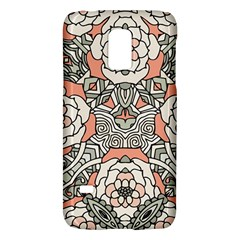 Petals In Vintage Pink, Bold Flower Design Samsung Galaxy S5 Mini Hardshell Case  by Zandiepants