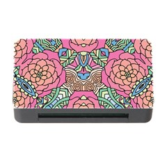 Petals, Carnival, Bold Flower Design Memory Card Reader With Cf by Zandiepants