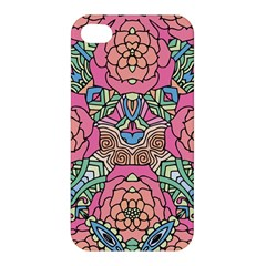 Petals, Carnival, Bold Flower Design Apple Iphone 4/4s Premium Hardshell Case by Zandiepants