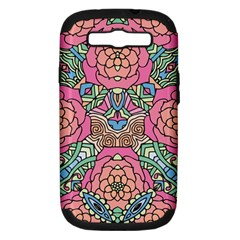 Petals, Carnival, Bold Flower Design Samsung Galaxy S Iii Hardshell Case (pc+silicone) by Zandiepants