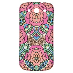 Petals, Carnival, Bold Flower Design Samsung Galaxy S3 S Iii Classic Hardshell Back Case by Zandiepants