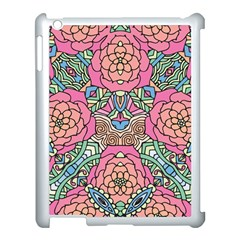 Petals, Carnival, Bold Flower Design Apple Ipad 3/4 Case (white) by Zandiepants