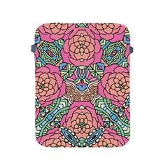 Petals, Carnival, Bold Flower Design Apple Ipad 2/3/4 Protective Soft Case by Zandiepants