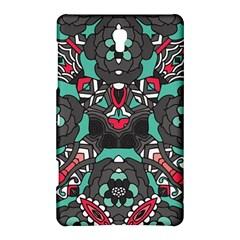 Petals In Dark & Pink, Bold Flower Design Samsung Galaxy Tab S (8 4 ) Hardshell Case  by Zandiepants