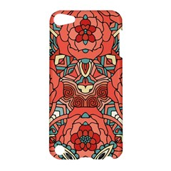 Petals In Pale Rose, Bold Flower Design Apple Ipod Touch 5 Hardshell Case by Zandiepants