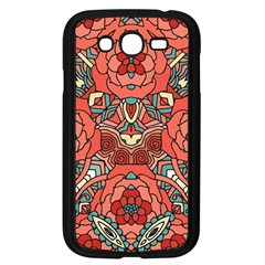 Petals In Pale Rose, Bold Flower Design Samsung Galaxy Grand Duos I9082 Case (black) by Zandiepants