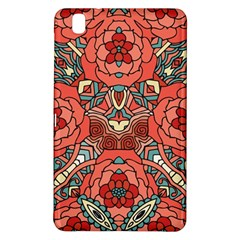 Petals In Pale Rose, Bold Flower Design Samsung Galaxy Tab Pro 8 4 Hardshell Case by Zandiepants