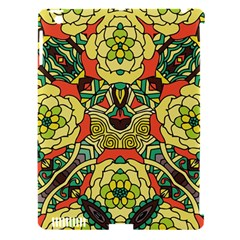Petals, Retro Yellow, Bold Flower Design Apple Ipad 3/4 Hardshell Case (compatible With Smart Cover) by Zandiepants