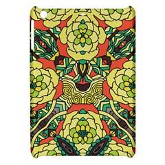 Petals, Retro Yellow, Bold Flower Design Apple Ipad Mini Hardshell Case by Zandiepants