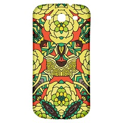 Petals, Retro Yellow, Bold Flower Design Samsung Galaxy S3 S Iii Classic Hardshell Back Case by Zandiepants