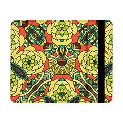 Petals, Retro Yellow, Bold Flower Design Samsung Galaxy Tab Pro 8.4  Flip Case by Zandiepants