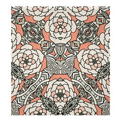 Petals In Vintage Pink, Bold Flower Design Shower Curtain 66  X 72  (large) by Zandiepants