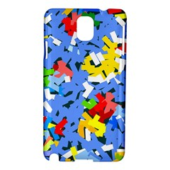 Rectangles Mix                          samsung Galaxy Note 3 N9005 Hardshell Case by LalyLauraFLM