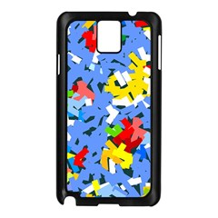 Rectangles Mix                          			samsung Galaxy Note 3 N9005 Case (black) by LalyLauraFLM