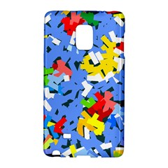 Rectangles Mix                          			samsung Galaxy Note Edge Hardshell Case by LalyLauraFLM