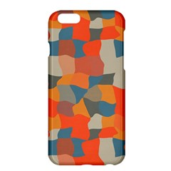 Retro Colors Distorted Shapes                           apple Iphone 6 Plus/6s Plus Hardshell Case by LalyLauraFLM