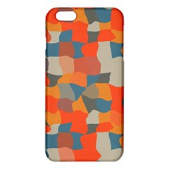 Retro Colors Distorted Shapes                           			iphone 6 Plus/6s Plus Tpu Case by LalyLauraFLM