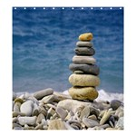STACKING STONES SHOWER CURTAIN FORMATTED TEMPATE FOR :  Shower Curtain Template Preset formatted for Product: Shower Curtain - Shower Curtain 66  x 72  (Large)