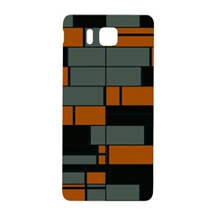 Rectangles In Retro Colors                              			samsung Galaxy Alpha Hardshell Back Case by LalyLauraFLM