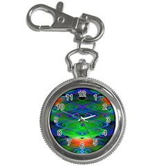 Neon Night Dance Party Key Chain Watches by CrypticFragmentsDesign
