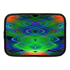 Neon Night Dance Party Netbook Case (medium)  by CrypticFragmentsDesign