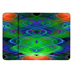 Neon Night Dance Party Samsung Galaxy Tab 8 9  P7300 Flip Case by CrypticFragmentsDesign