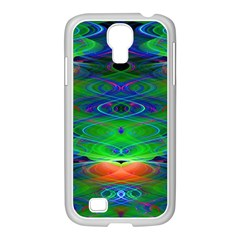 Neon Night Dance Party Samsung Galaxy S4 I9500/ I9505 Case (white) by CrypticFragmentsDesign