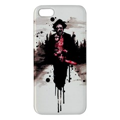 Leatherface 1974 iPhone 5S/ SE Premium Hardshell Case by lvbart