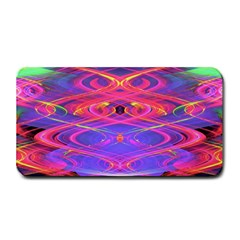 Neon Night Dance Party Pink Purple Medium Bar Mats by CrypticFragmentsDesign