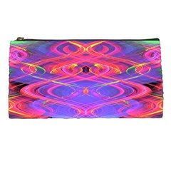 Neon Night Dance Party Pink Purple Pencil Cases by CrypticFragmentsDesign