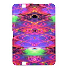 Neon Night Dance Party Pink Purple Kindle Fire Hd 8 9  by CrypticFragmentsDesign