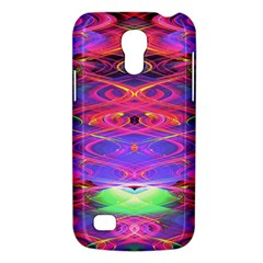 Neon Night Dance Party Pink Purple Galaxy S4 Mini by CrypticFragmentsDesign
