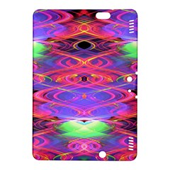 Neon Night Dance Party Pink Purple Kindle Fire Hdx 8 9  Hardshell Case by CrypticFragmentsDesign