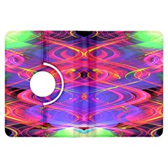 Neon Night Dance Party Pink Purple Kindle Fire Hdx Flip 360 Case by CrypticFragmentsDesign
