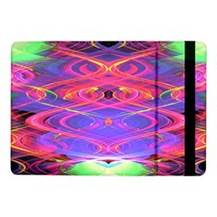 Neon Night Dance Party Pink Purple Samsung Galaxy Tab Pro 10 1  Flip Case by CrypticFragmentsDesign